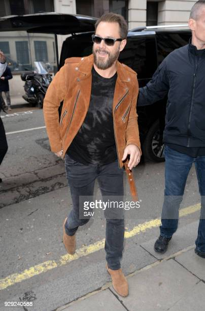 Jimi Westbrook from the band Little Big Town pictured at The BBC on March 8 2018 in London England