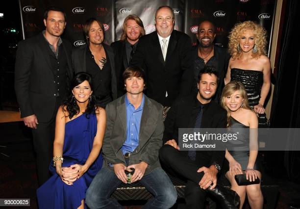 Jimi Westbrook Keith Urban Phillip Sweet Mike Dungan President and CEO Capitol Records Nashville Darius Rucker and Kimberly Roads Karen Fairchild...