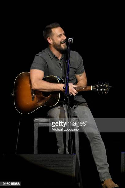 Jimi Westbrook of musical group Little Big Town performs onstage during ACM Stories Songs Stars A Songwriter's Event Benefiting ACM Lifting Lives at...