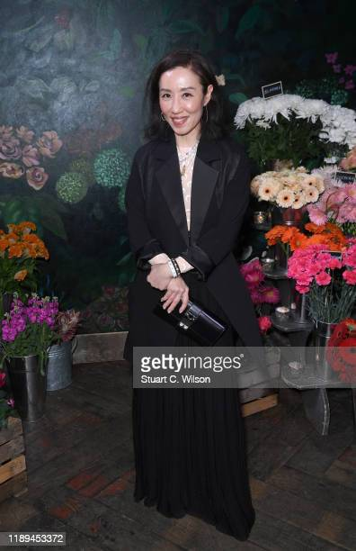 Jimin Lee attends the gala dinner in honour of Edward Enninful winner of the Global VOICES Award 2019 during #BoFVOICES on November 22 2019 in...
