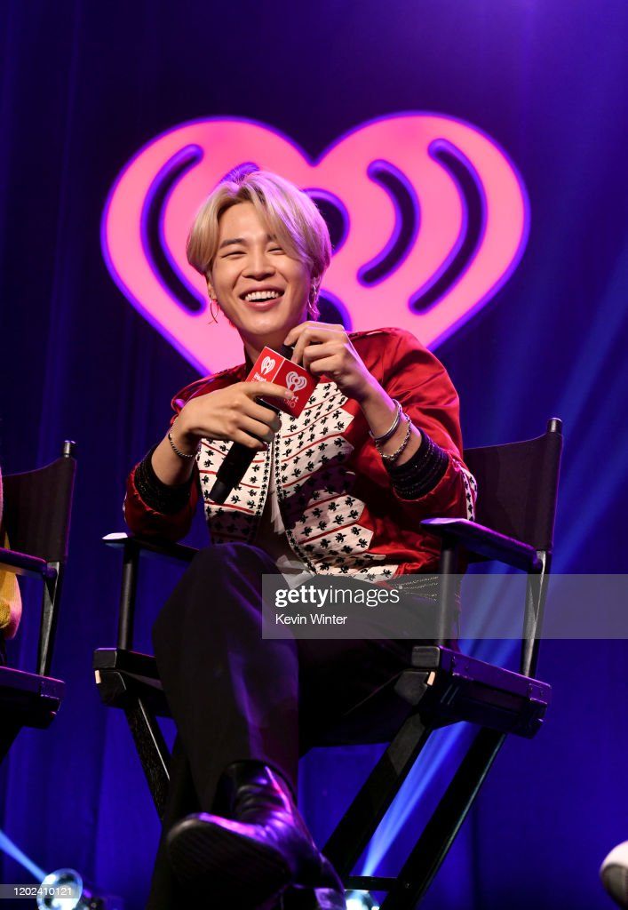 iHeartRadio LIVE With BTS Presented By HOT TOPIC : News Photo