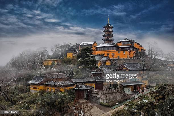 Jiming Temple With Snow