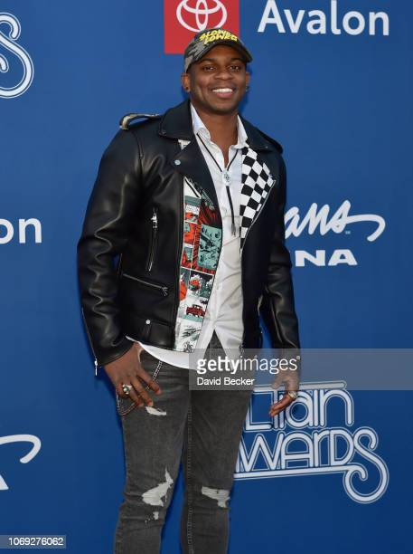 Jimmie Alan attends the 2018 Soul Train Awards at the Orleans Arena on November 17 2018 in Las Vegas Nevada