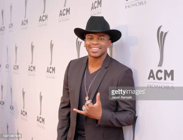 Jimmie Allen attends the 12th Annual ACM Honors at Ryman Auditorium on August 22 2018 in Nashville Tennessee