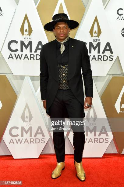 Jimmie Allen attends the 53rd annual CMA Awards at the Music City Center on November 13 2019 in Nashville Tennessee