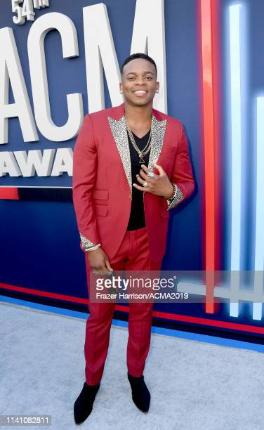 Jimmie Allen attends the 54th Academy Of Country Music Awards at MGM Grand Hotel Casino on April 07 2019 in Las Vegas Nevada