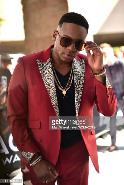 Jimmie Allen attends the 54th Academy Of Country Music Awards at MGM Grand Garden Arena on April 07 2019 in Las Vegas Nevada
