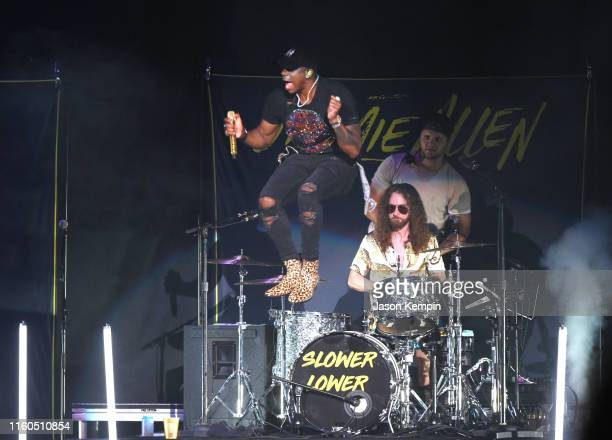 Jimmie Allen performs at Ascend Amphitheater on July 06 2019 in Nashville Tennessee
