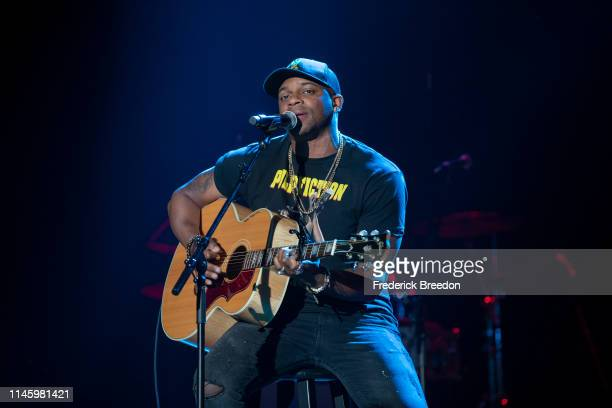 Jimmie Allen performs at the 2019 Grammy Block Party at War Memorial Auditorium on April 29 2019 in Nashville Tennessee