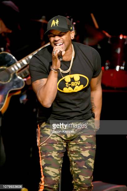 Jimmie Allen performs onstage during C'Ya on The Flipside benefit concert benefitting The Troy Gentry Foundation at The Grand Ole Opry on January 9...