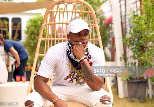 Jimmie Allen poses for a portrait during the 2019 Stagecoach Festival at Empire Polo Field on April 28 2019 in Indio California
