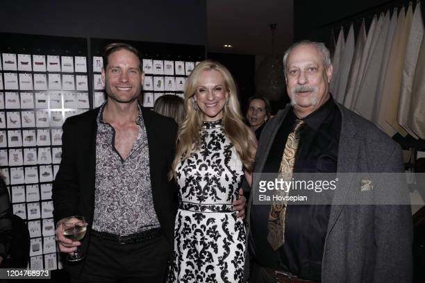 Jimmie Berggren of The Humble Co Consuelo Vanderbilt Costin and Michael Horowitz of Muse Tek attend the LA Launch Event Of SohoMuse at Christopher...