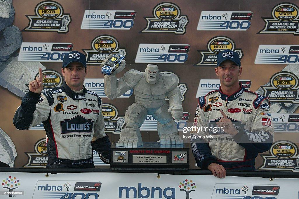 NASCAR Racing 2005 - MBNA Race Points 400 : News Photo