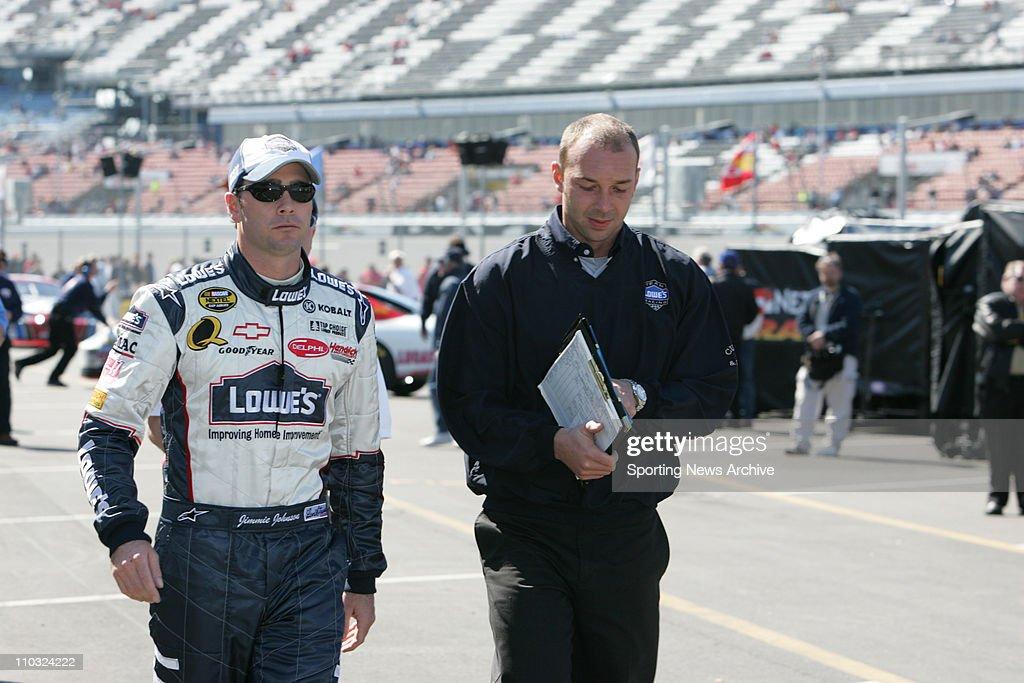 Sporting News NASCAR Collection : News Photo