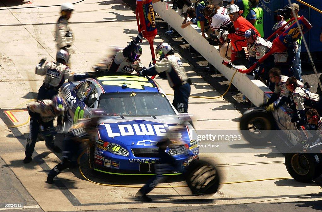 MBNA RacePoints 400 : News Photo