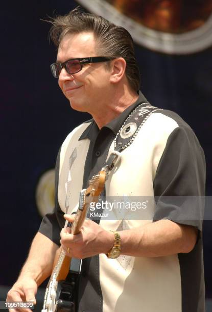 Jimmie Vaughan during Crossroads Guitar Festival Day Three at Cotton Bowl Stadium in Dallas Texas United States
