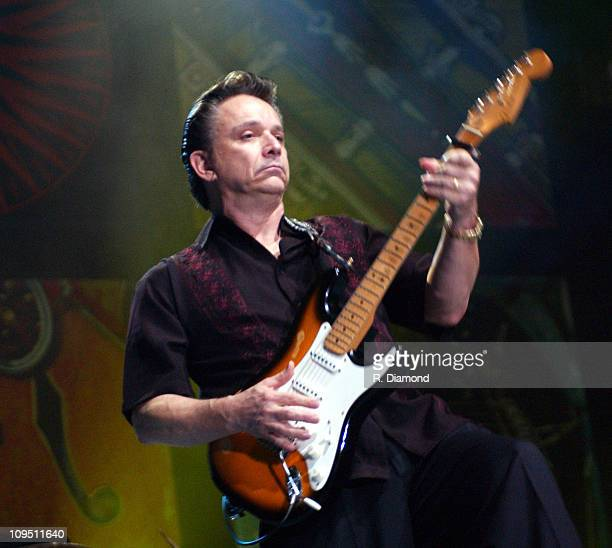 Jimmie Vaughan during Crossroads Guitar Festival Day Two All Star Blues Jam Hosted by Eric Clapton at Fair Park in Dallas Texas United States