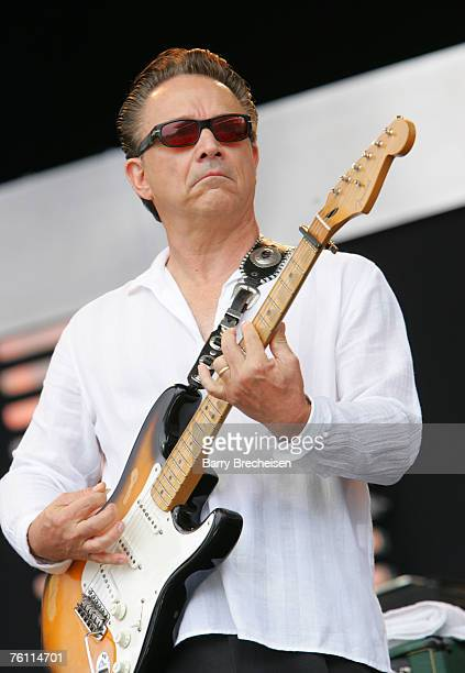 Jimmie Vaughan performs at Eric Clapton's Crossroads Guitar Festival 2007 held at Toyota Park on July 28 2007 in Bridgeview Illinois