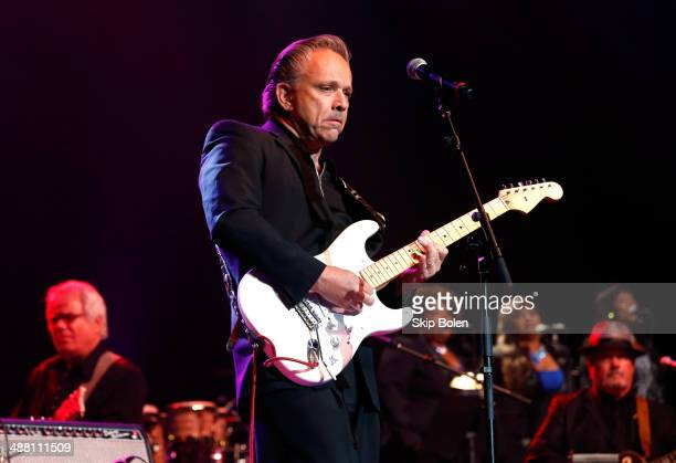 Jimmie Vaughan performs during The Musical Mojo of Dr John A Celebration of Mac His Music at the Saenger Theatre on May 3 2014 in New Orleans...