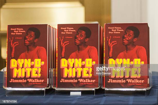 Jimmie Walker speaks during a discussion about his book 'Dynomite Good Times Bad Times Our Times A Memoir' at McGowan Theater on May 3 2013 in...