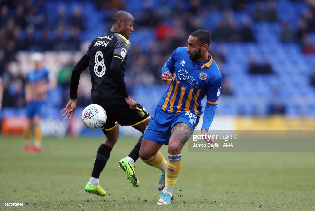 Shrewsbury Town v A.F.C. Wimbledon - Sky Bet League One