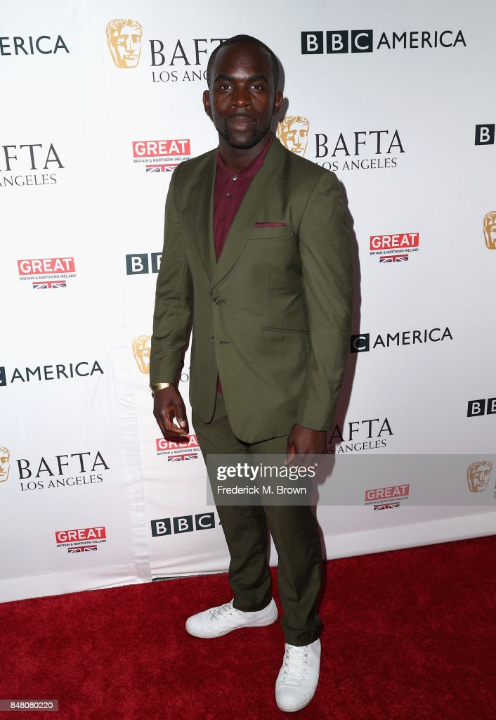 Jimmy Akingbola attends the BBC America BAFTA Los Angeles TV Tea Party 2017 at The Beverly Hilton Hotel on September 16, 2017 in Beverly Hills, California.
