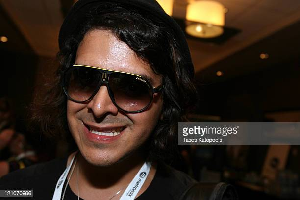 b965c986e9a6 Jimmy Ambrose of Louis XIV in Armani Exchange at The Music Lounge presented  by Metromixcom at