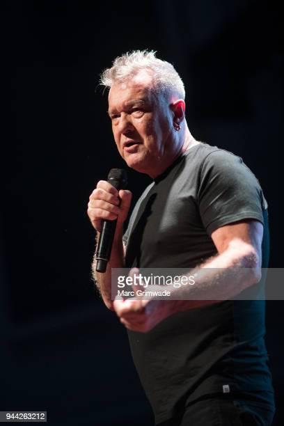 Jimmy Barnes performs at Brisbane City Hall on April 10 2018 in Brisbane Australia