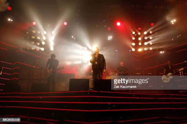 Jimmy Barnes performs on stage during the 31st Annual ARIA Awards 2017 at The Star on November 28 2017 in Sydney Australia