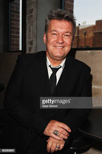 Jimmy Barnes poses during the official launch of `My First Gig With Jimmy Barnes` at Studio 24 on March 25 2009 in Sydney Australia