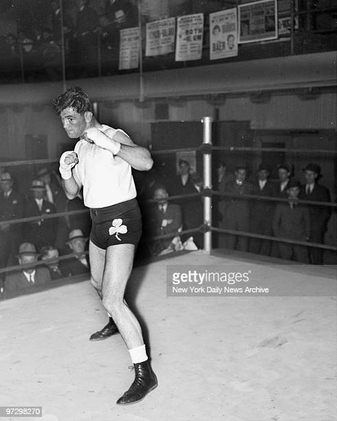 Jimmy Braddock training for fight with Max Baer