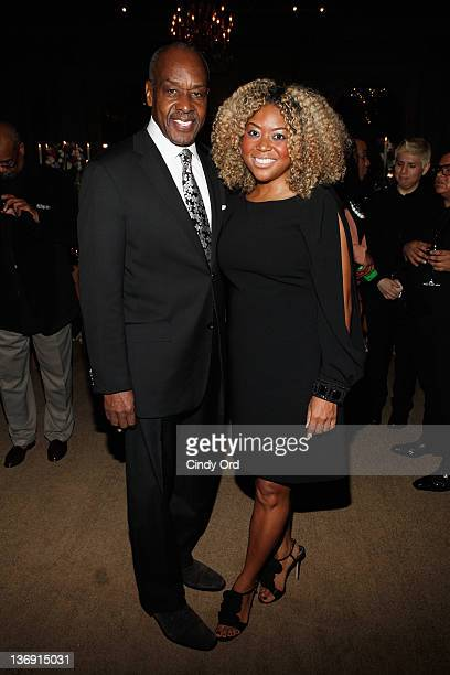 Jimmy Branch and Titi Branch attend the Target salute to Miko Branch and Titi Branch to celebrate being named two of Ebony Magazine's Power 100 at...