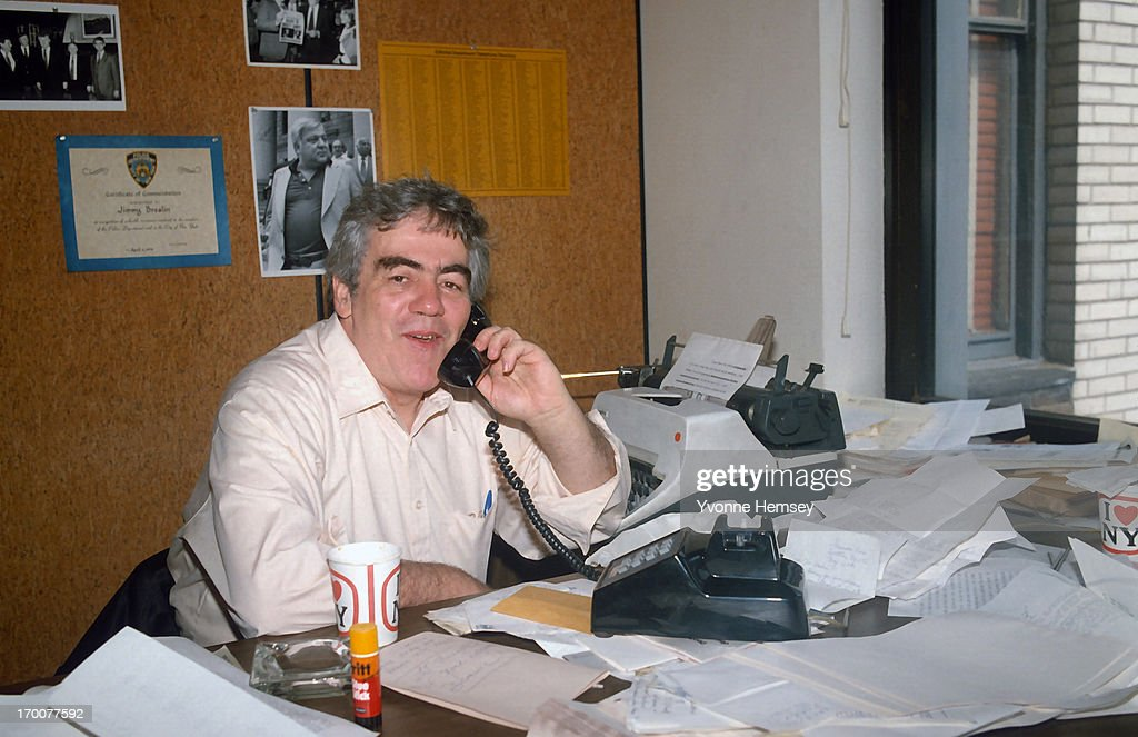 Jimmy Breslin... : News Photo