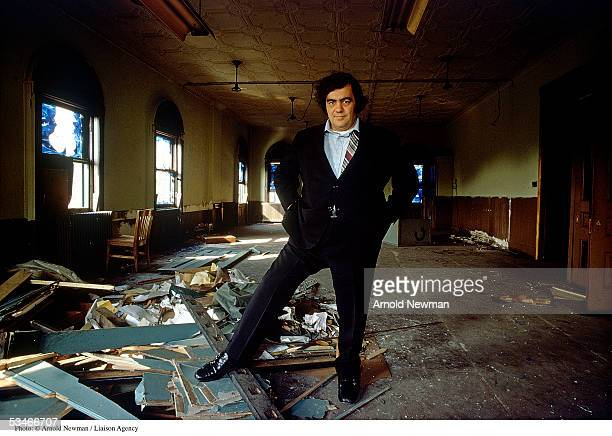 Jimmy Breslin Pulitzer Prize winning journalist and author poses for a portrait May 19 1971 in Brooklyn New York