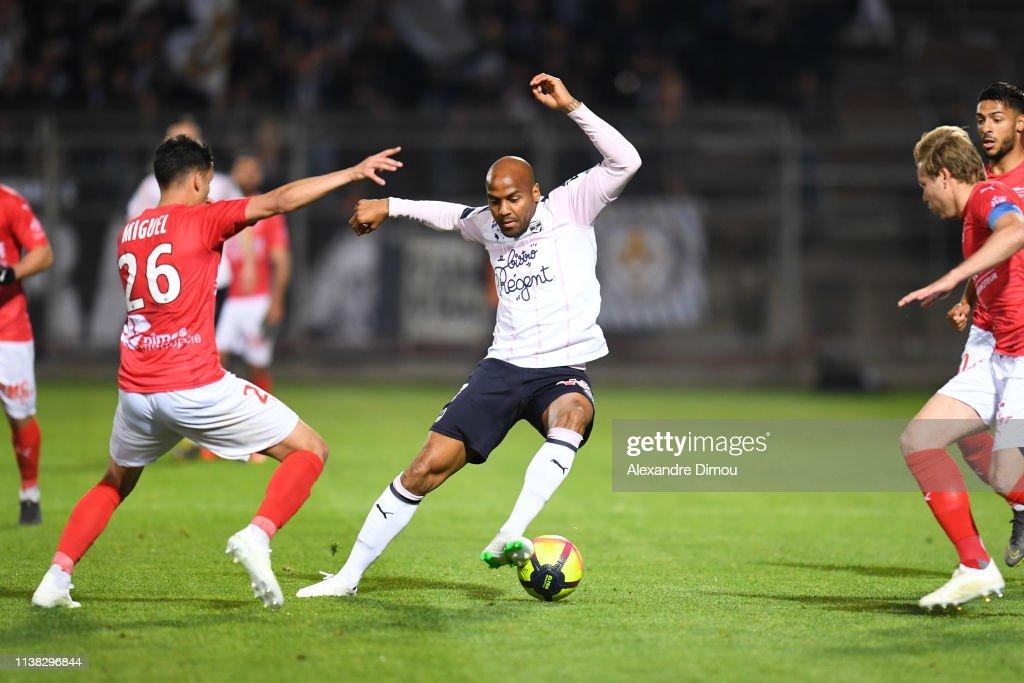 FRA: Nimes Olympique v FC Girondins de Bordeaux - French Ligue 1