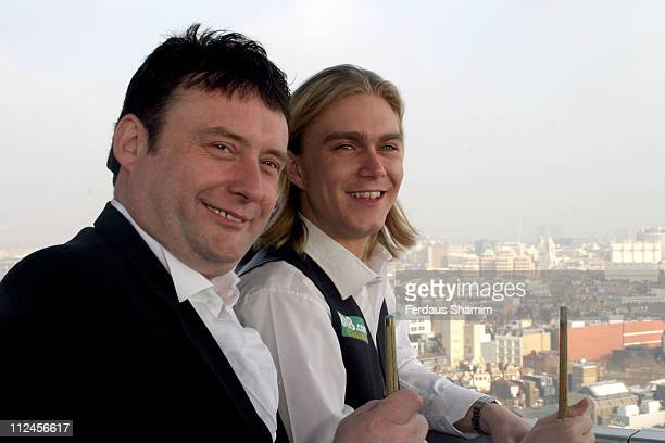 Jimmy Brown formerly known as Jimmy White and Paul Hunter