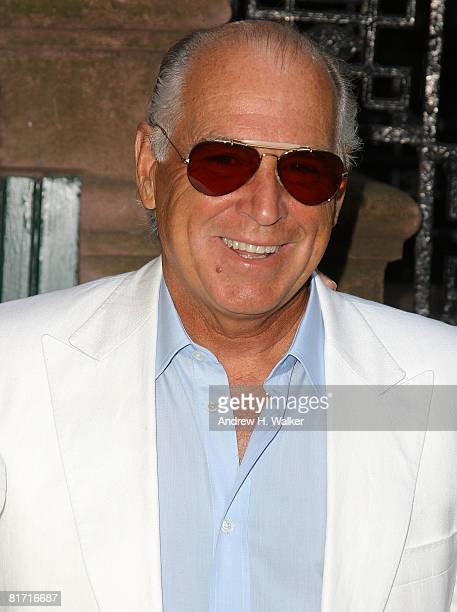 Jimmy Buffet attends the reception for Gonzo The Life and Work of Dr Hunter S Thompson on June 25 2008 at The Waverly Inn in New York City