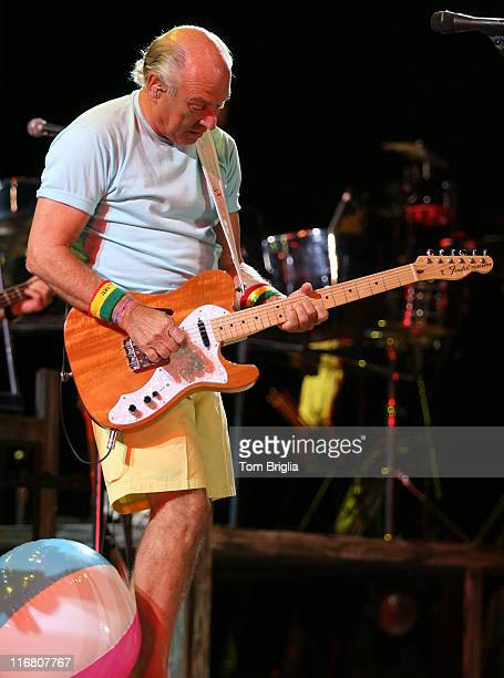 Jimmy Buffet of the Coral Reef Band performs in the Historic Boardwalk Hall on June 30 2007 in Atlantic City New Jersey