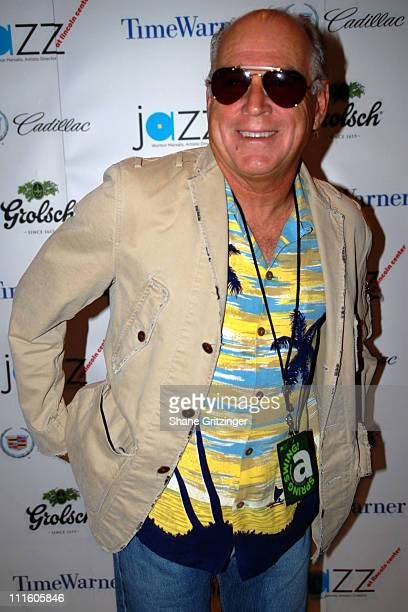 Jimmy Buffett during Jazz at Lincoln Center's 2007 Spring Gala Arrivals at Frederick P Rose Hall in New York New York United States