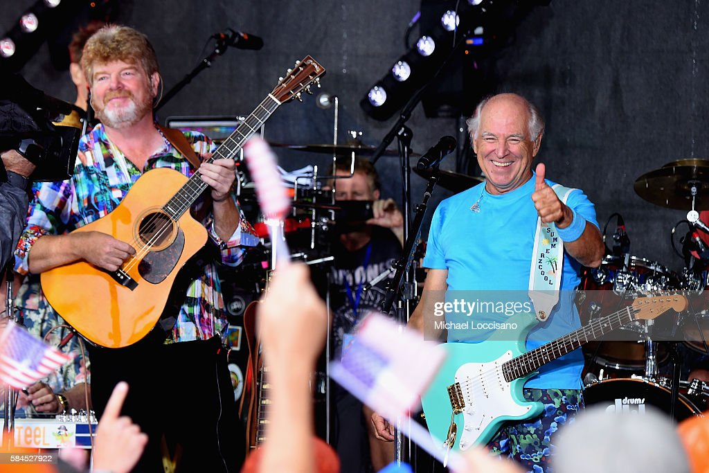 """Jimmy Buffett Performs On NBC's """"Today"""""""