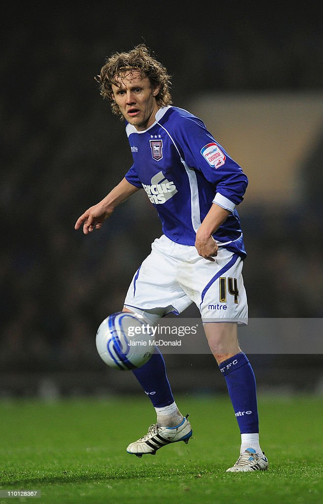 Jimmy Bullard of Ipswich Town in action during the npower Championship match between Ipswich Town and Watford at Portman Road on March 15, 2011 in Ipswich, England.