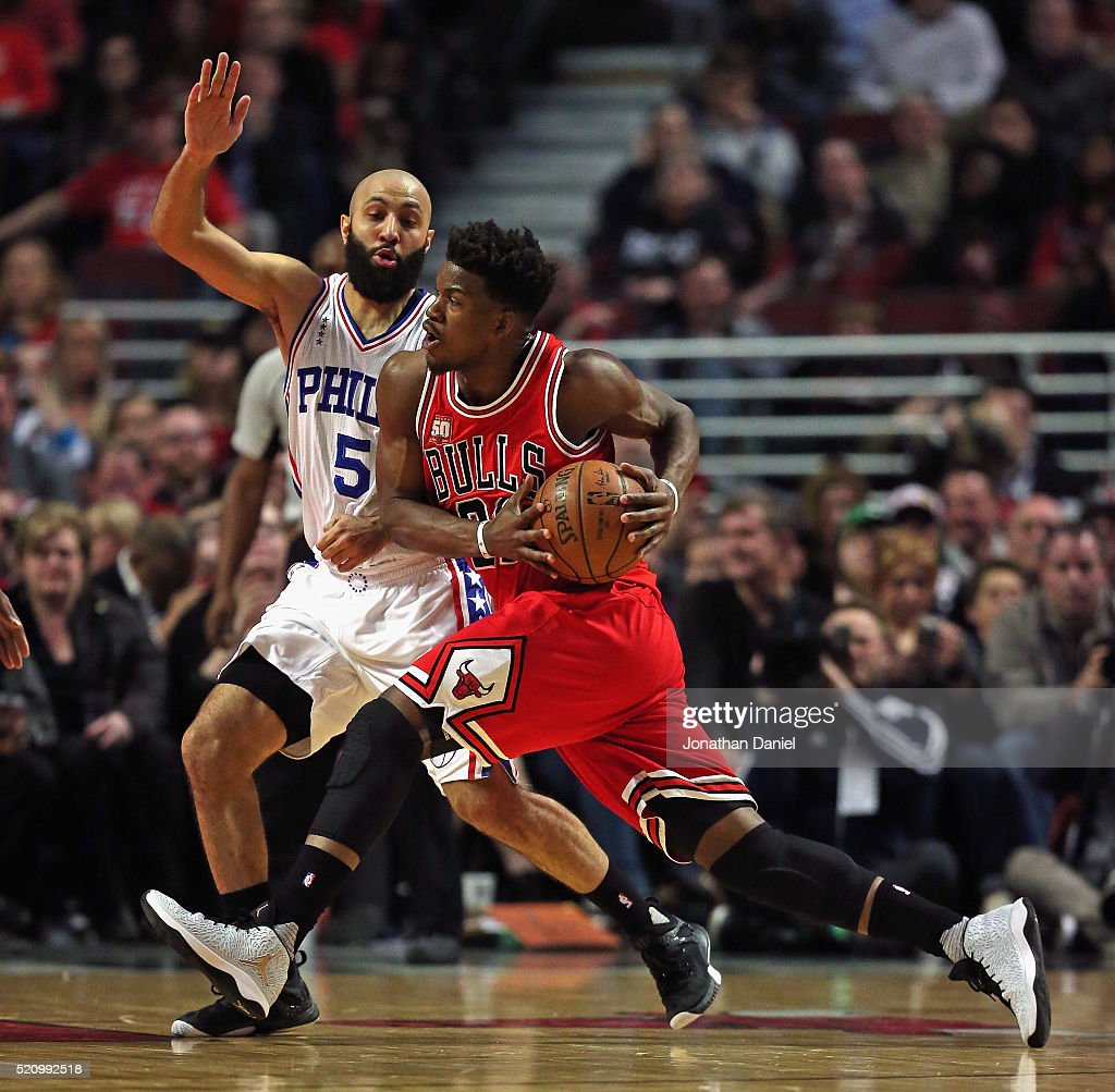 Philadelphia 76ers v Chicago Bulls