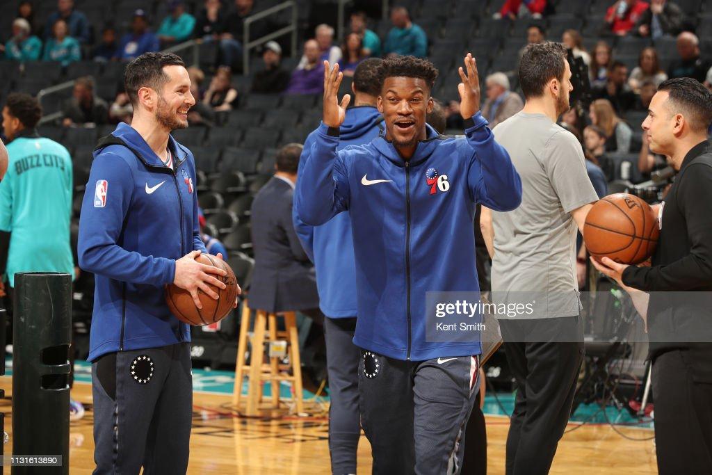 NC: Philadelphia 76ers v Charlotte Hornets