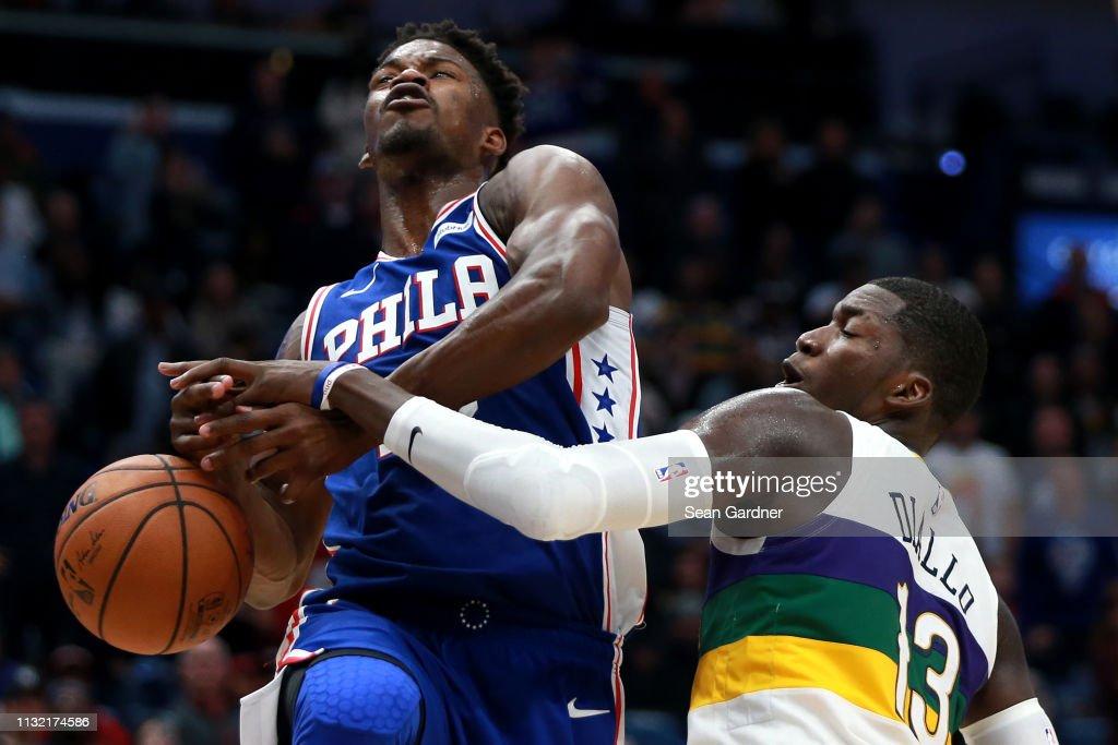 Philadelphia 76ers v New Orleans Pelicans : News Photo