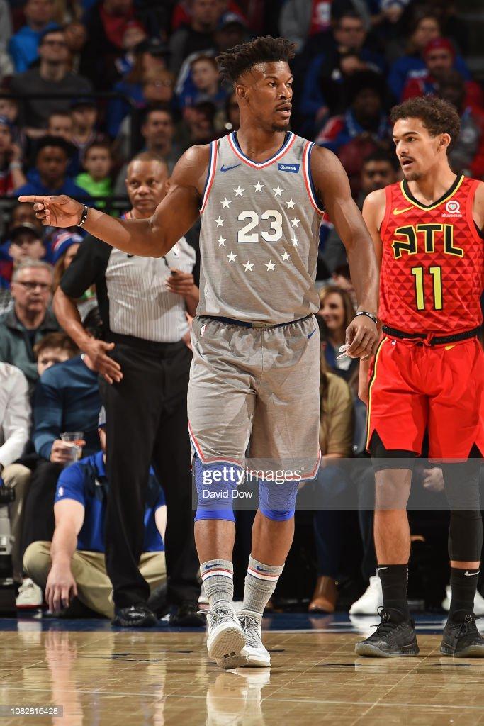 Atlanta Hawks v Philadelphia 76ers : News Photo