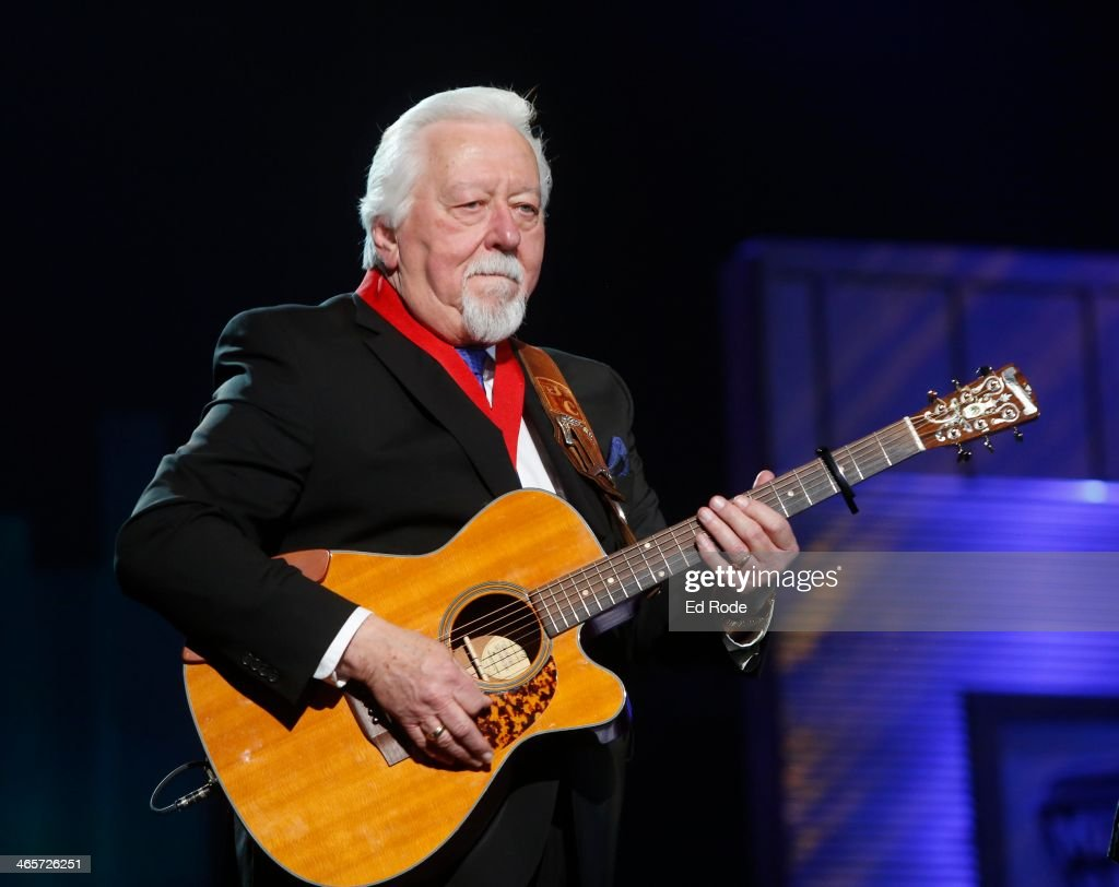 Jimmy Capps attends the 2014 Musicians Hall of Fame Induction Ceremony at Nashville Municipal Auditorium on January 28, 2014 in Nashville, Tennessee.