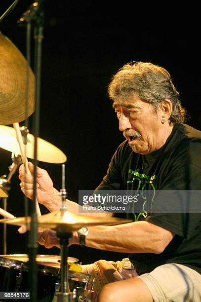 Jimmy Carl Black performs live on stage at BIM Huis in Amsterdam, Netherlands on June 27 2003