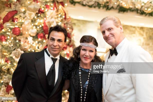 Jimmy Carnelli Kira Reed Lorsch and Roger Neal attend The Thalians Hollywood for Mental Health Holiday Party 2017 at the Bel Air Country Club on...