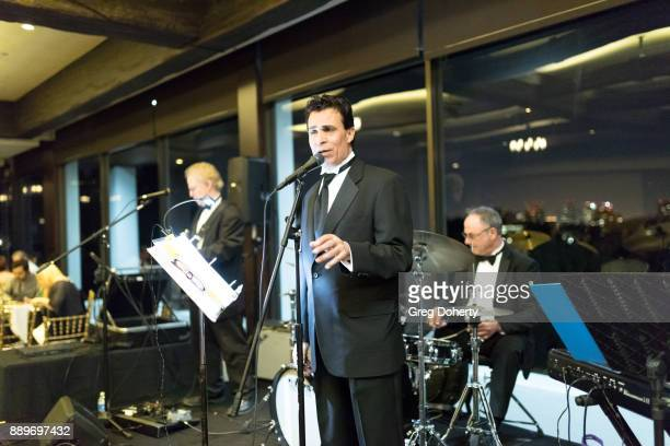 Jimmy Carnelli performs at The Thalians Hollywood for Mental Health Holiday Party 2017 at the Bel Air Country Club on December 09 2017 in Bel Air...