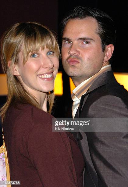 """Jimmy Carr and guest during """"Hell's Kitchen 2""""- Day 10 - Arrivals at Atlantis Building, Brick Lane in London, Great Britain."""